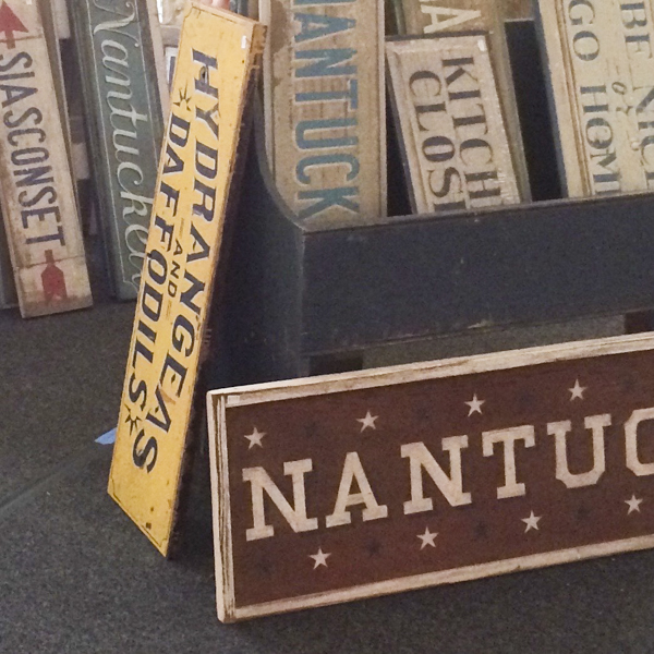 Nantucket Signs